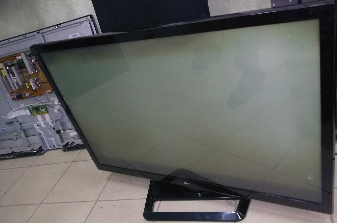 повреждение экрана плазменного телевизора